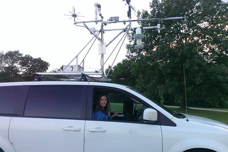 mesonet, weather instruments, van, meteorologist