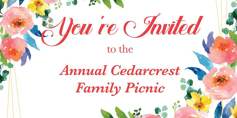 Annual Cedarcrest Family Picnic 2018