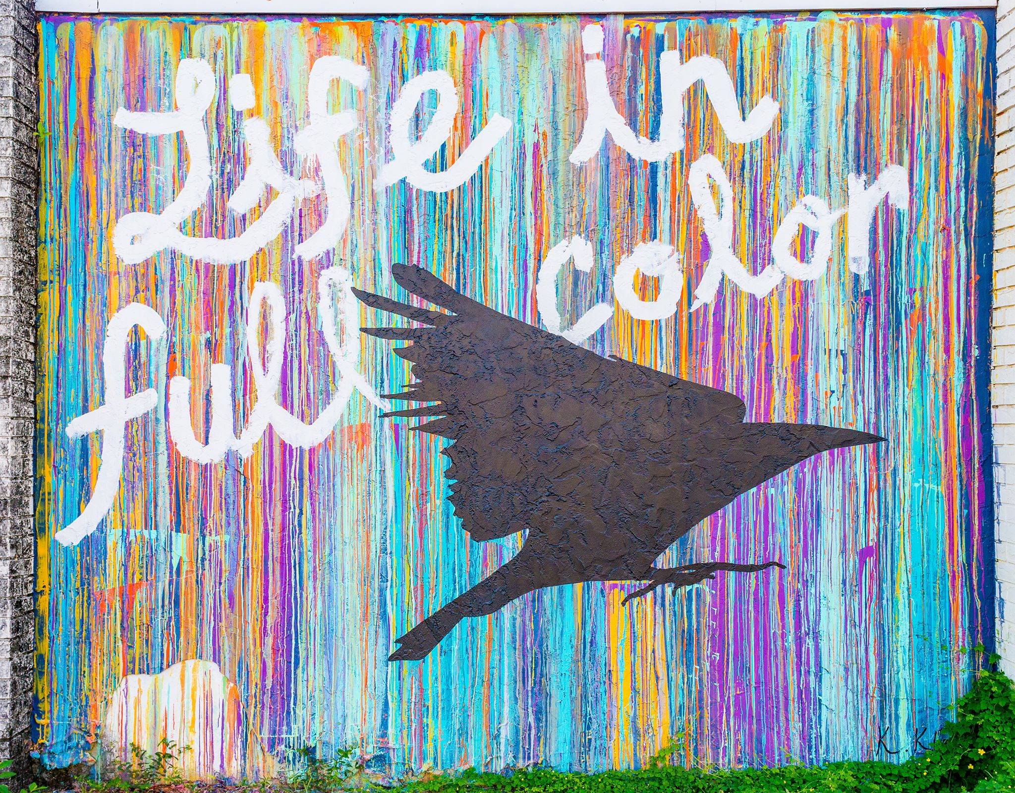 Life in Full Color Mural EGAD