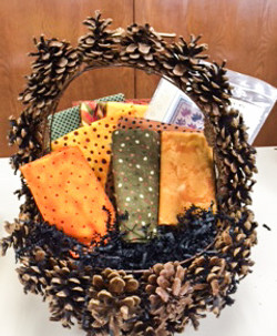 Fall in Love with Fabrics Basket