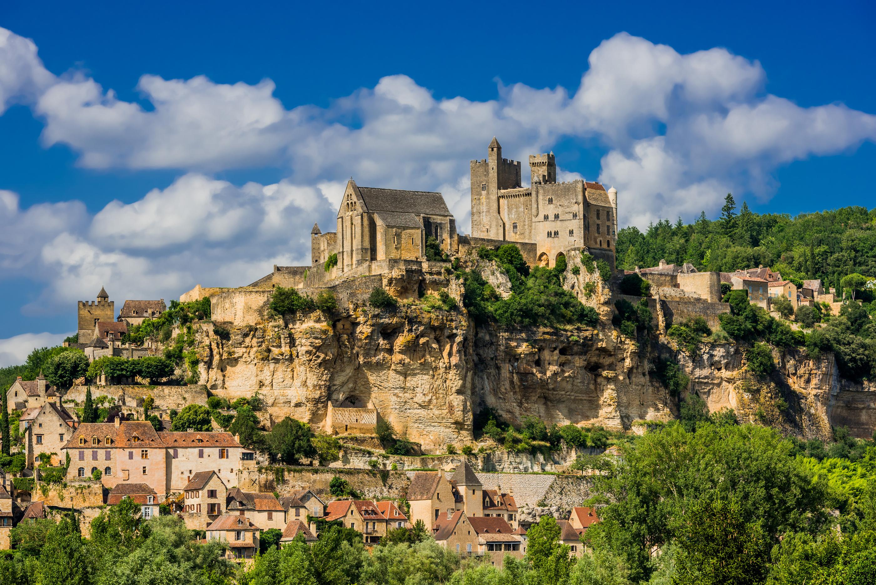chateau de beynac castle dordogne perigord France