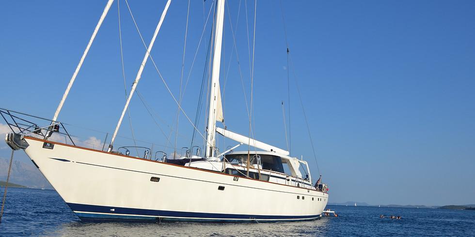 Retraite op zeilboot Moonlightness te Mallorca