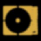 Logo Lightness goud zonder overgang met