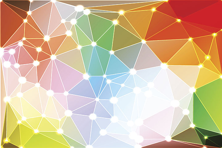rainbow-colors-geometric-background-with