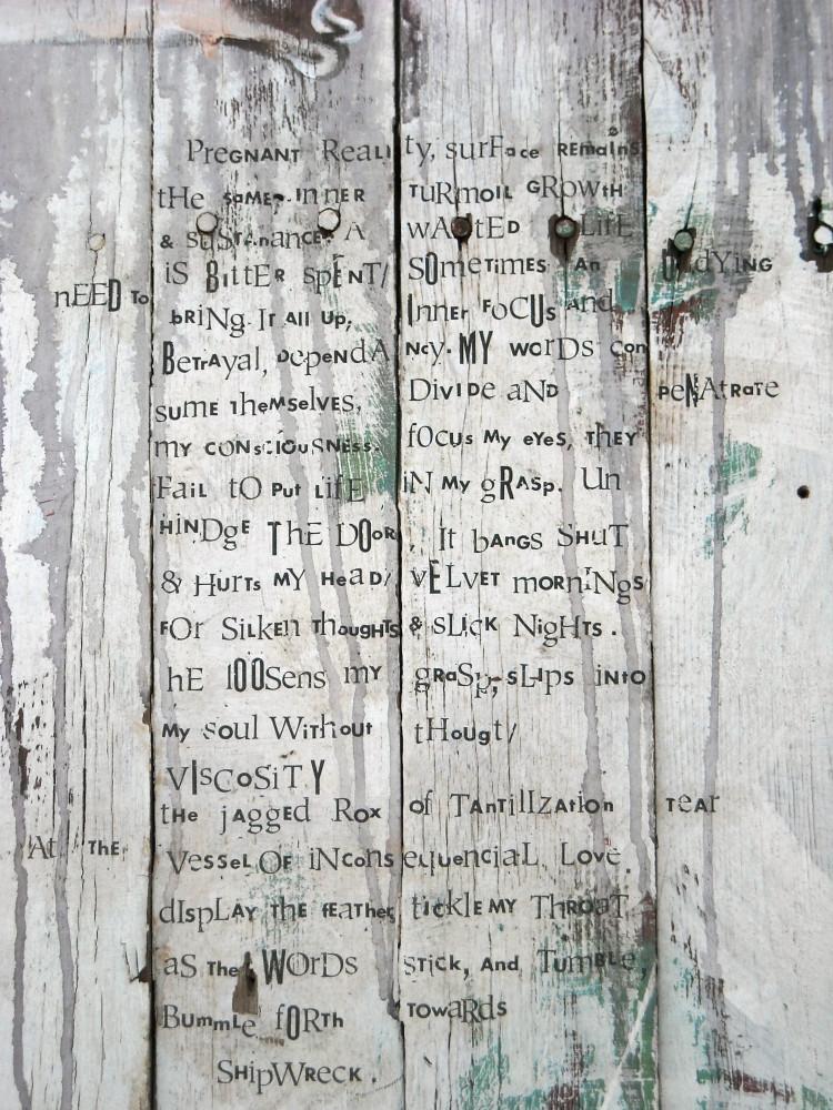 Bone In, Bone Out (Detail)- Judith Ann Miller
