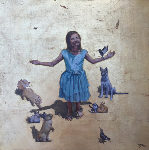 Divinity of Innocence- Judith Ann Miller