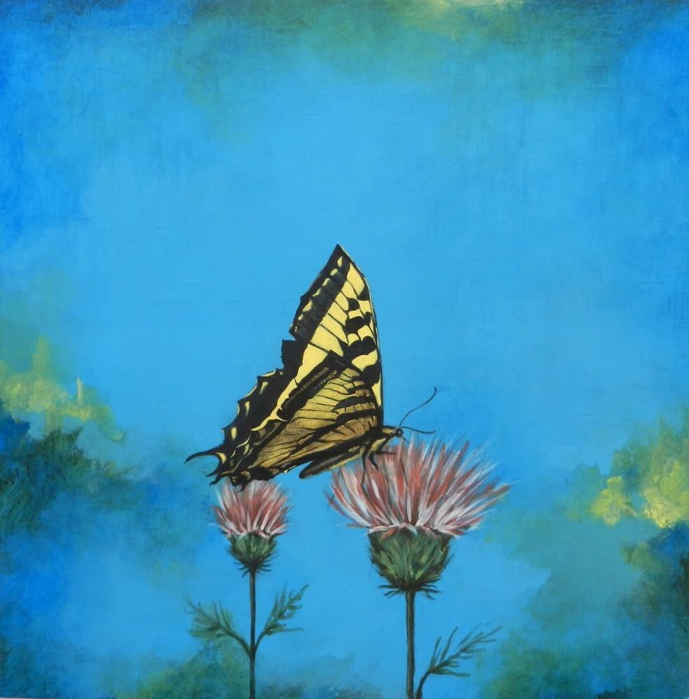 Swallowtail & Thistle- Judith Dauncey