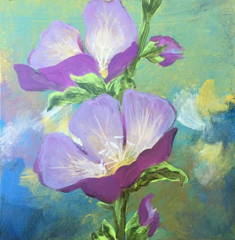 Mexican Primrose- Judith Dauncey