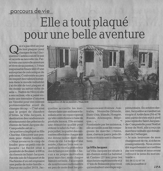 article La depeche janvier 2020.jpeg