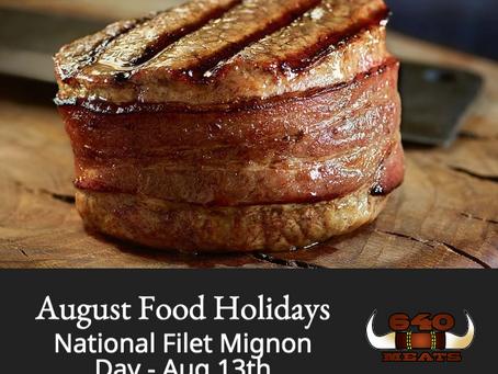 August Food Holidays