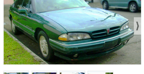 VOUCHER 50% ONE PARA AUTOMÓVIL ANTIGUO PONTIAC VERDE SEDAN AÑO 1992 (VALOR $3,990 USD)