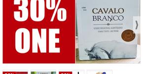 30% ONE PARA CAJA DE 6 BOTELLAS DE VINO CAVALO BRANCO TINTO (VALOR $55 USD) CIUDAD DE PANAMÁ