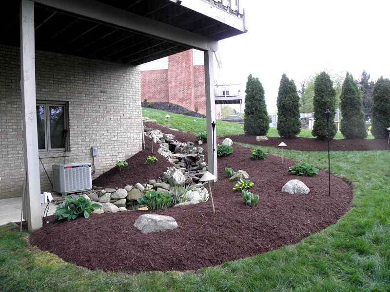 Mulch after