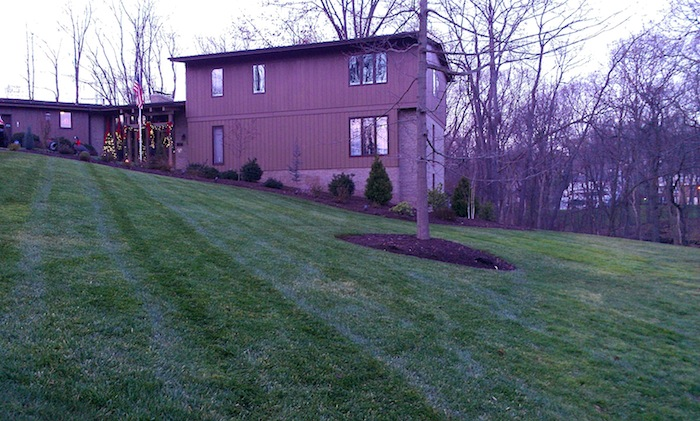 Upper St. Clair after landscaping