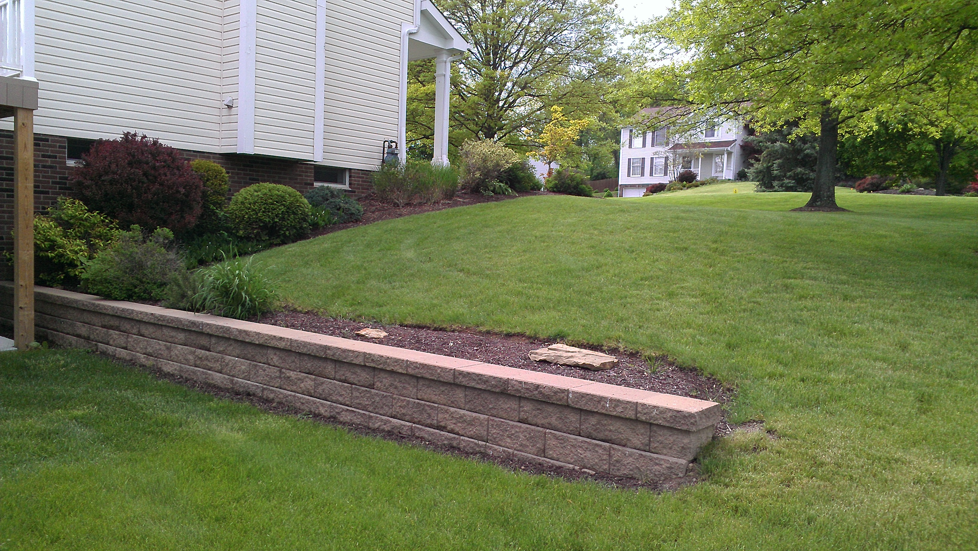 Retaining wall Upper St. Clair