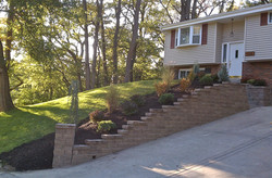 Brentwood landscaping after