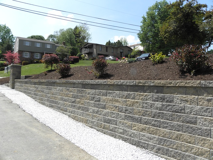 South Park Retaining Wall