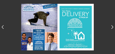 TREEHOUSE DELIVERY Santa Cruz Waves AD M