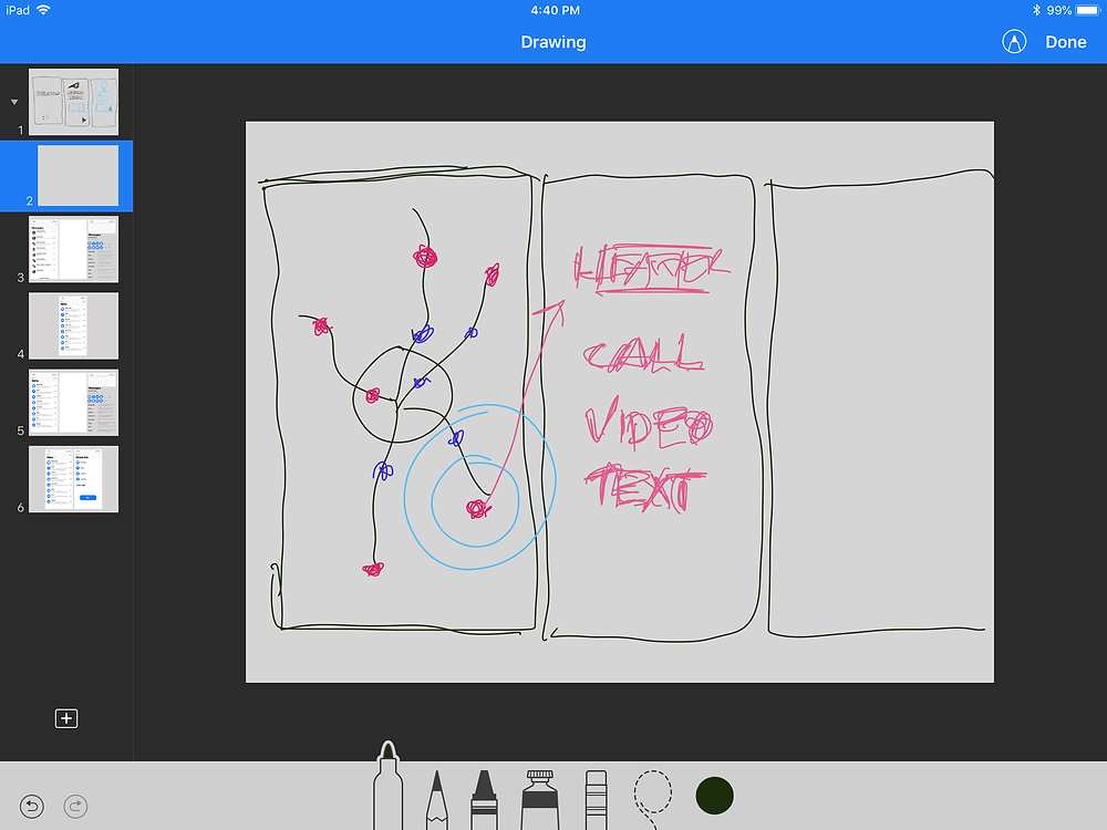 Keynote Screenshot - App Storyboarding - Today at Apple