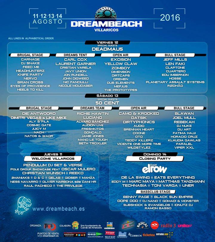 CARTEL DREMBEACH 2016