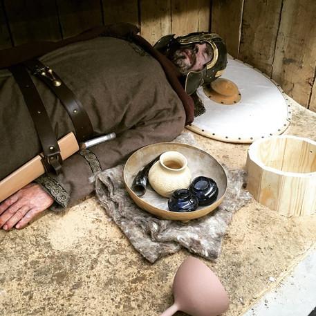Chelmsford Museum Saxon Burial