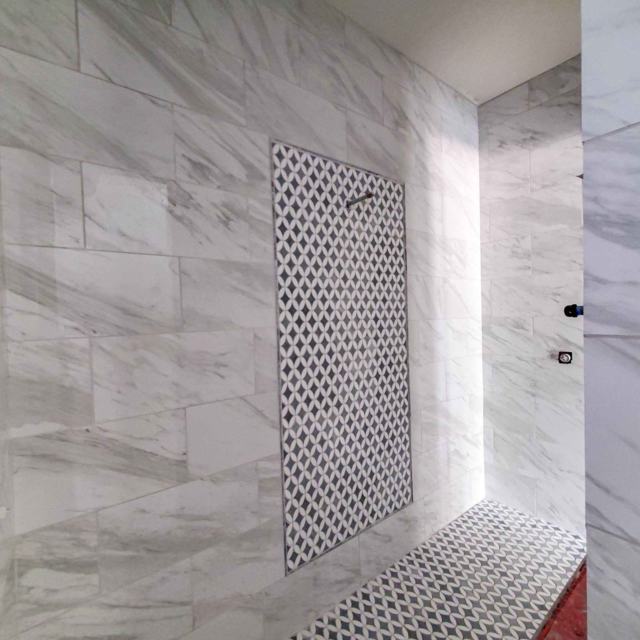 Master Walk-Through Shower