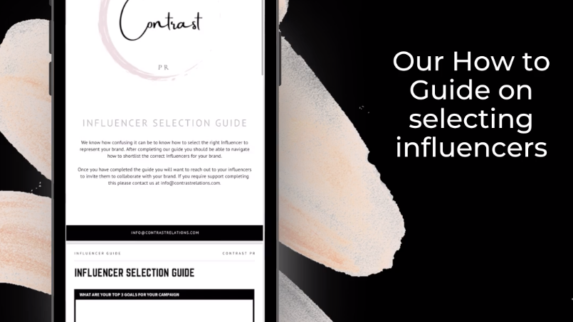 Influencer Selection Guide