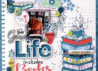The Good Life Includes Books | Debbi Tehrani