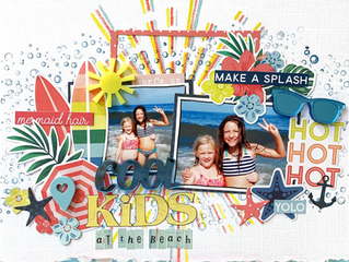 Cool Kids at the Beach | Debbi Tehrani