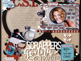 CSI: Scrappers Gonna Scrap   Debbi Tehrani