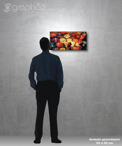 Retablo fotográfico panorámico 60x30 cm