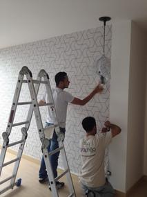 instalacion wallpaper