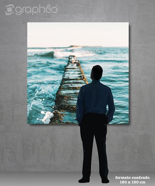 Retablo fotográfico 150x150 cm