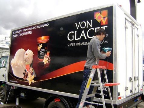 Marcacion camiones VonGlacet