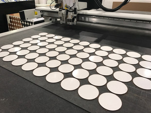 portavasos circulares hardboard