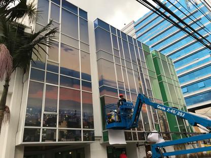 instalacion microperforado fachada