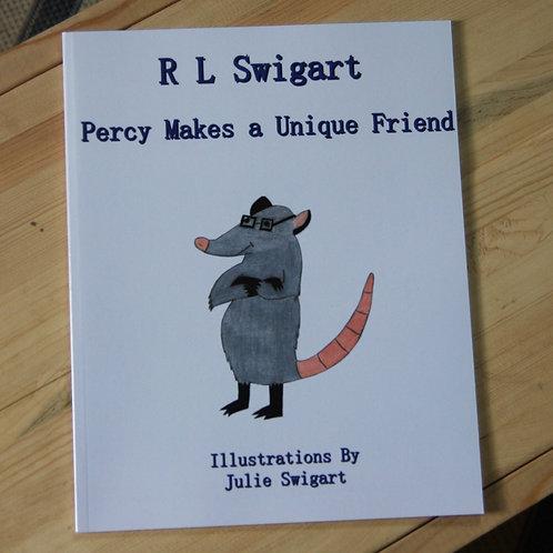 Percy Makes A Unique Friend