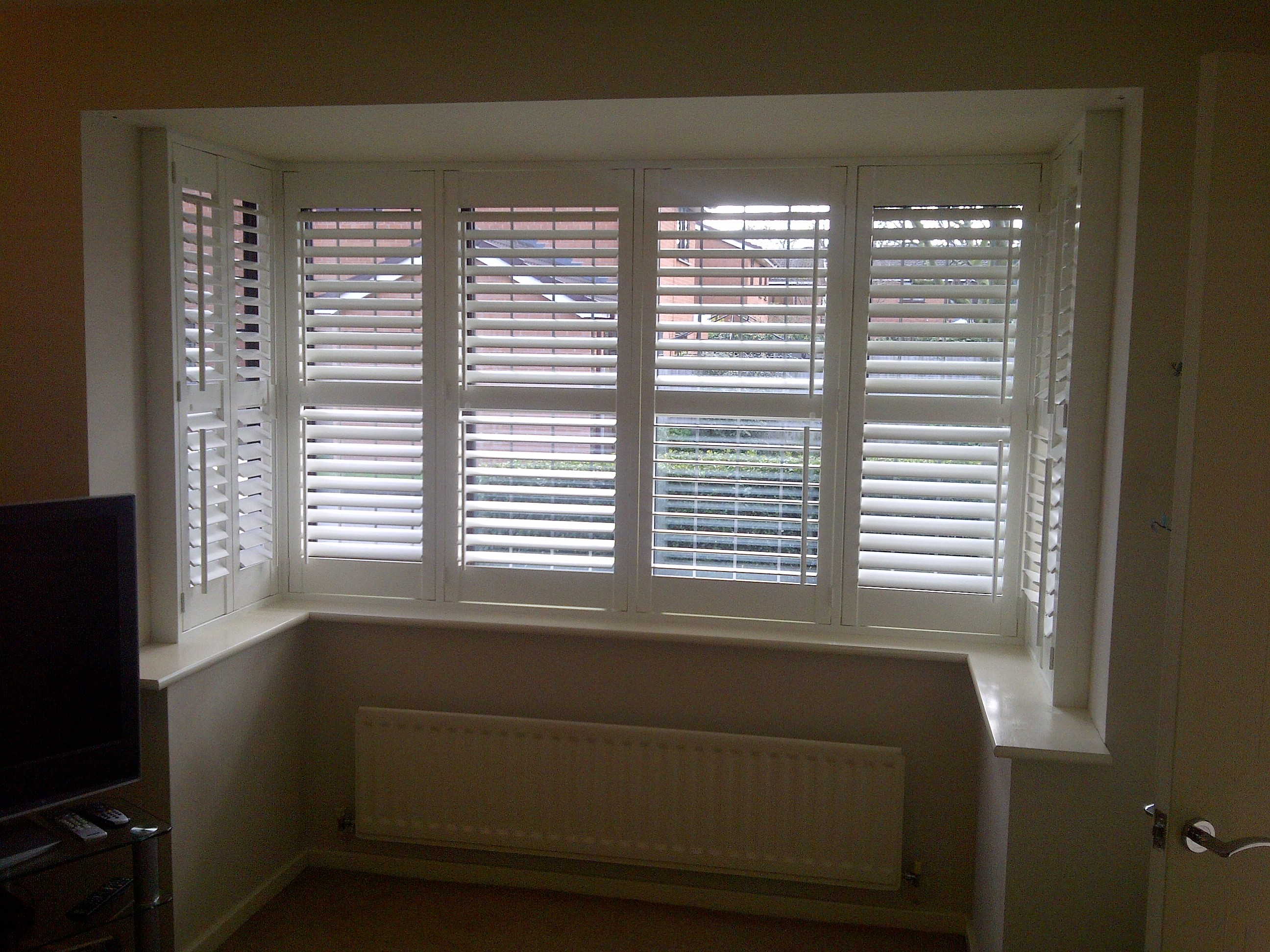 boxed bay shutters