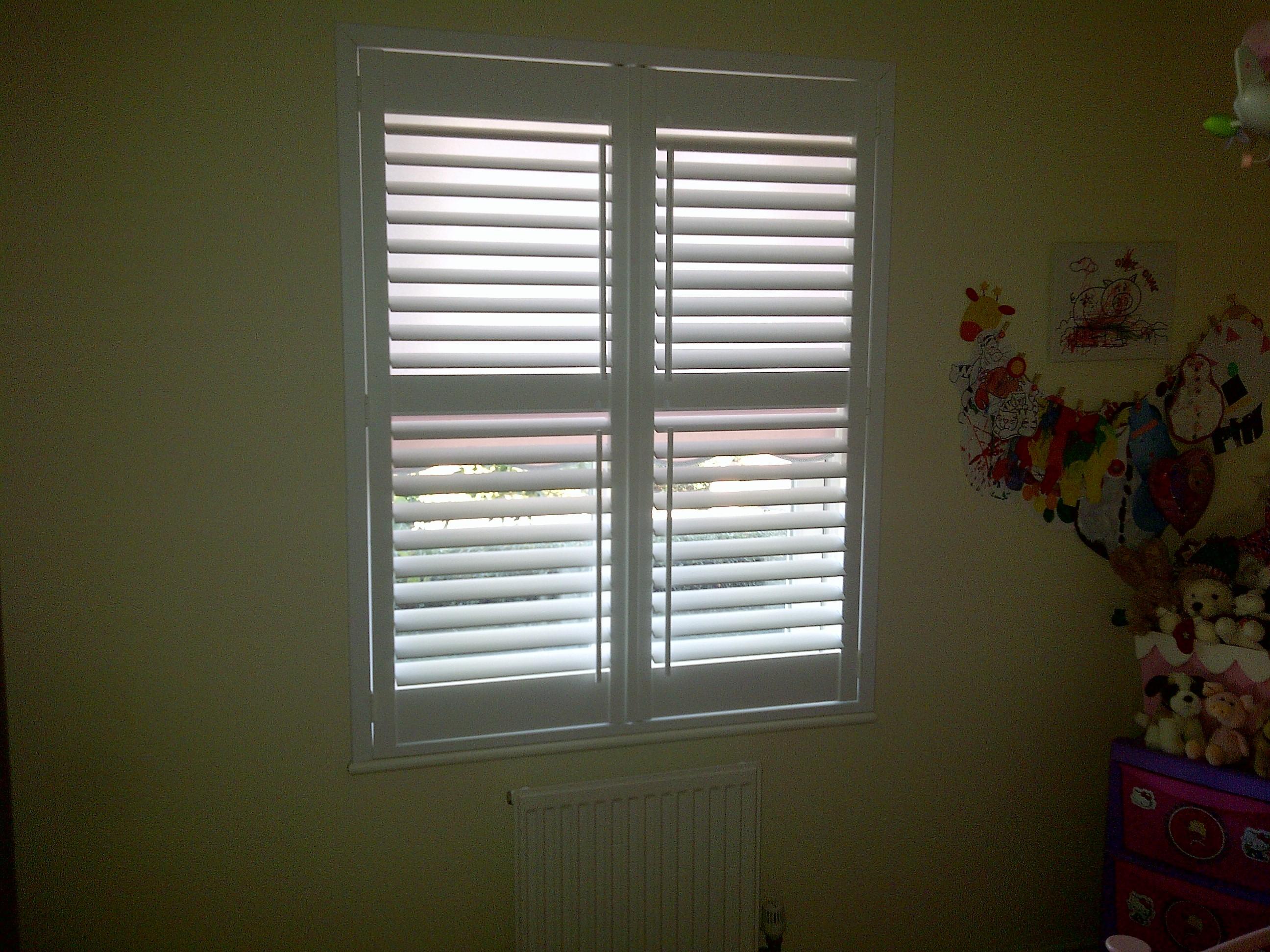 bedroom shutter