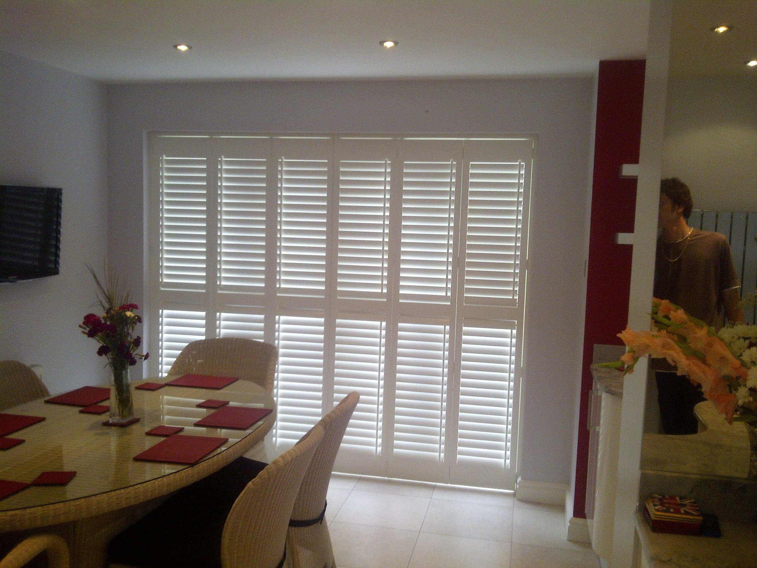 patio door shutters