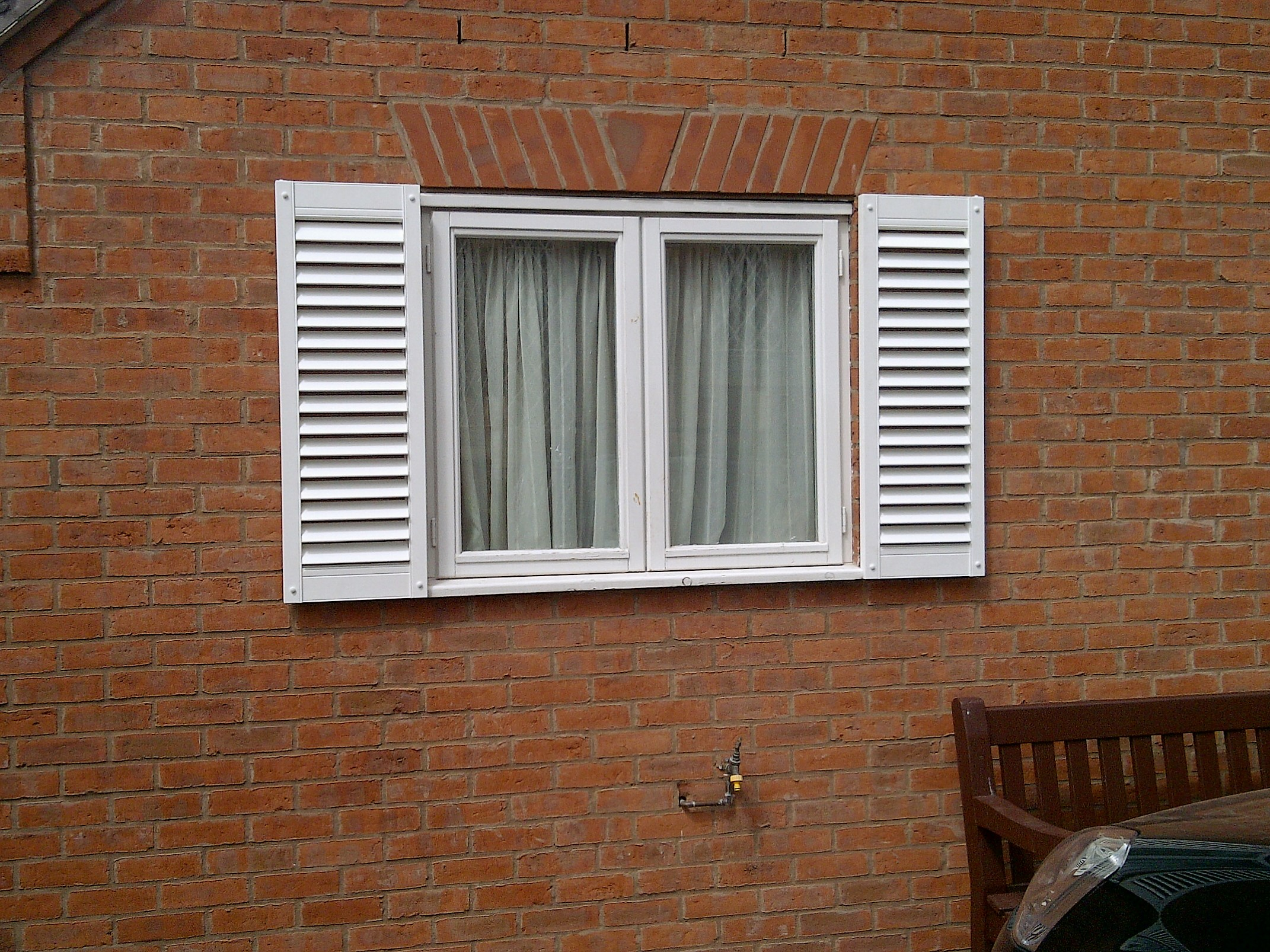 pvc decorative shutter