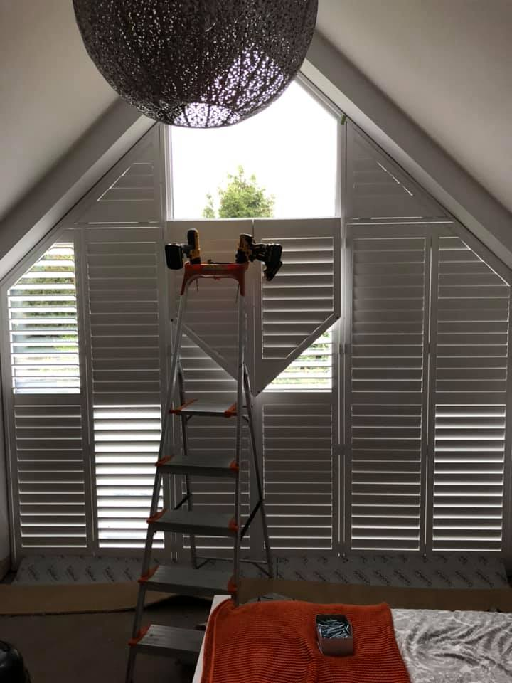 fitting apex shutters