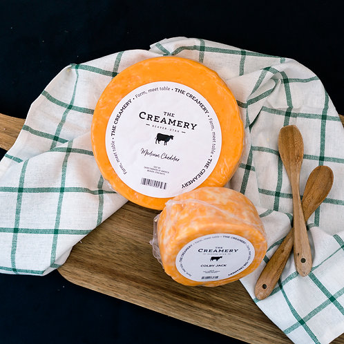 1 lb cheese from The Creamery Add-on
