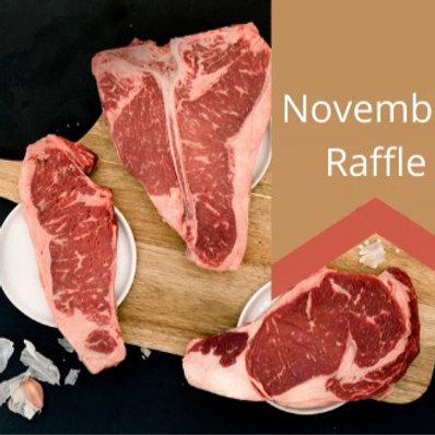 November Raffle - 1/4 beef