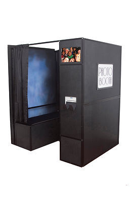 Enclosed photo booth