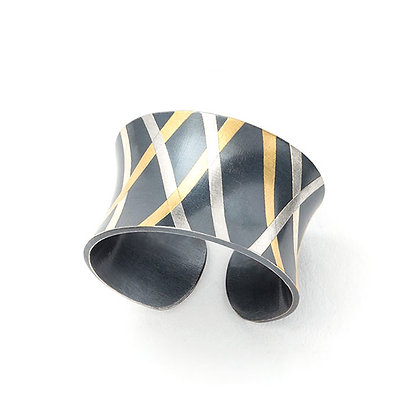 Mikado Cuff Ring
