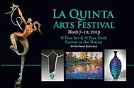 La Quinta Art Festival 2019_Dorothee Naumburg_Direct Mail Postcard 2019
