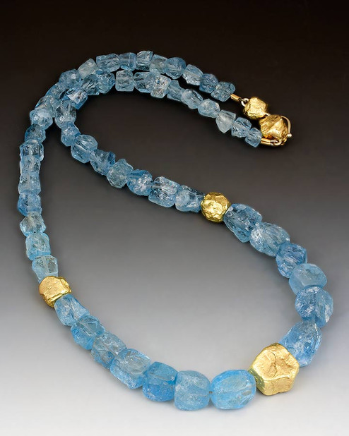 """Aquamarine"" Necklace"