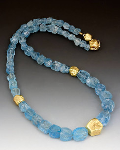 """""""Aquamarine"""" Necklace"""