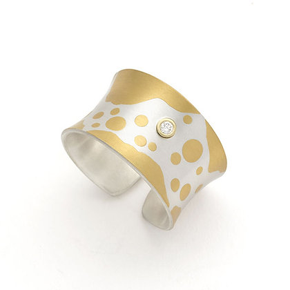 Bubbly Cuff Ring